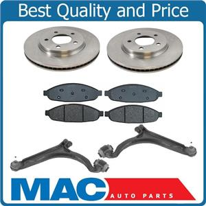04-08 Pacifica (2) 53019 Front Brake Rotor Front Brake Pads Lower Control Arms