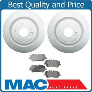 Rear Brake Disc Rotor Rotors & Semi Metallic Pad Pads for 13-14 Range Rover