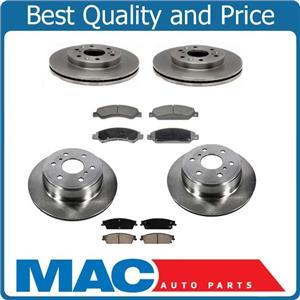 Fits For 07-08 Escalade Frt & Rr Rotors & Ceramic Pads 55097 CD1092 55133 CD1194