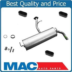 05-10 Tc Rear Muffler Muffler Assembly Walker fits 05-10 Scion tC Gaskets Bolts
