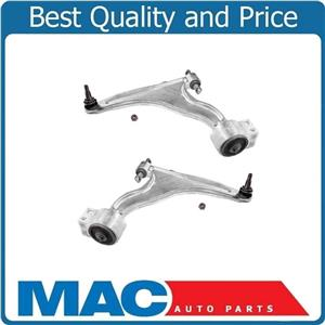 Front Lower Left Right Control Arm w/ Ball Joint Set for 2010-2016 Cadillac SRX