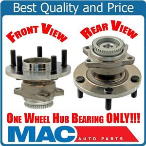 REAR Replacement Wheel Bearing Hub W ABS Trigger For 06-12 Eclipse MR589520