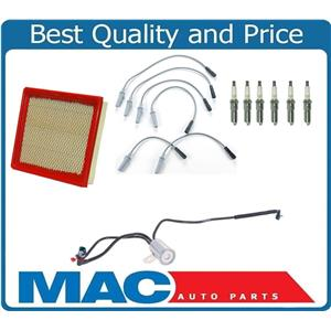 01-03 Town & Country Pro Spark Spark Plug Ignition Wires Plugs Air Filter