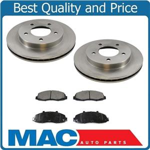 New Front Brake 5 Hole Rotors Pads ALL WHEEL DRIVE ONLY 4x4 for Ford F150 97-03