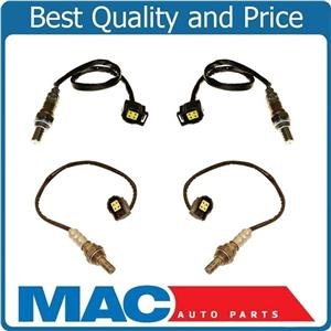 Front & Rear O2 Oxygen Sensor Direct Fit For 03-05 Grand Cherokee 3.7L (4) New