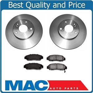 Front Brake Rotors Pads for Honda Accord 3.0L 2003-2007 Automatic Transmission