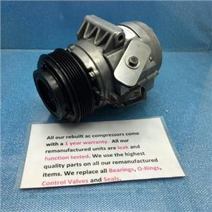 AC Compressor For Fusion Lincoln MKZ Zephyr Mercury Milan (1yr Warranty) R67669