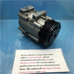 AC Compressor Fits Ford E450 Excursion F-Series Lincoln Blackwood (1 Y W) R57152