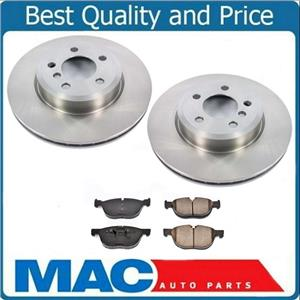For 07-10 BMW X5 3.0L Only (2) Front Brake Rotor & Premium Pads 100% All New