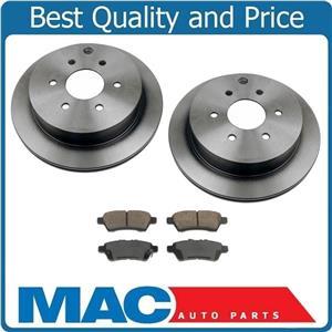 05-15 Frontier Xterra Rear Brake Rotors & Ceramic Pads 31410 CD1101