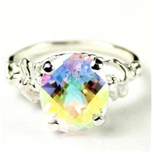 Mercury Mist Topaz, 925 Sterling Silver Ring, SR 154
