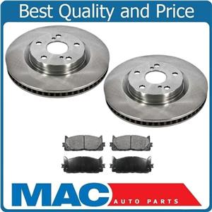 Fits 07-16 Camry 08-15 Avalon FRONT Brake Rotors & CERAMIC Pads 31434 CD1293