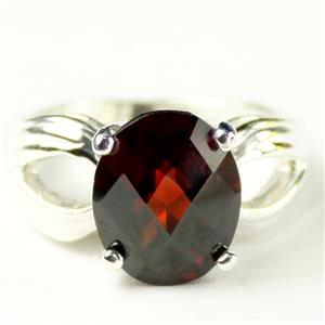 SR361, Mozambique Garnet, 925 Sterling Silver Ring