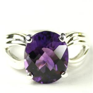 SR361, Amethyst, 925 Sterling Silver Ladies Ring