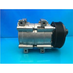 AC COMPRESSOR FITS FORD E-350 ECONOLINE & F-SERIES (ONE YEAR WARR) 57150 REMAN