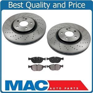 03 06 S430 S500 4Matic (2) FRONT  Brake Rotors & Metallic Pads 40433212 86820