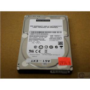 """IBM/Seagate 1TB 7.2K 2.5"""" SAS 6GB/S ST91000640NS 68Y7712 Refurbished NO Tray"""