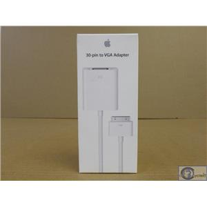 Brand New Apple 30-Pin to VGA Adapter iPad 2/iPhone 4/iPod Touch MC552ZM/B Boxed