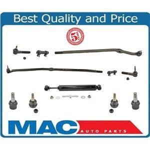 03-07 Ram PickUp 4x4 2500 3500 Drag Link Tie Rod Steering Stabilizer Ball Jt 11P