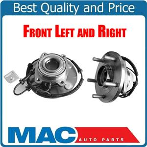 2 Front  Wheel Bearing and Hub Assembly For 08-16 Town & Country