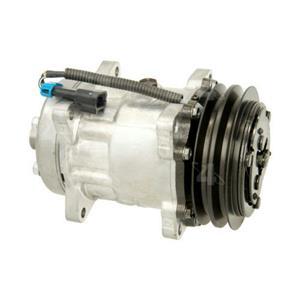 AC Compressor for Freightliner FC70, FL50 FS65 (One Year Warranty) R58704