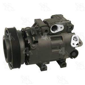 AC Compressor for 2008-2010 Hyundai Sonata (1 Year Warranty) R157306