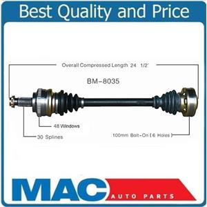 CV Drive Axle Shaft Fits BMW 330i 2001-05 Rear Driver Side A/TONLY!!!