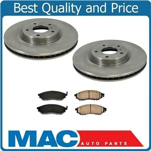 (2) BR900718 31375 320MM = 12 5/8 Rotors With CD888 Ceramic Pads CALL CUSTOMER