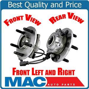 2 FRONT WHEEL BEARING HUB ASSEMBLY Fits 02-05 Ram 1500 4x4 W Wheel ABS Brakes