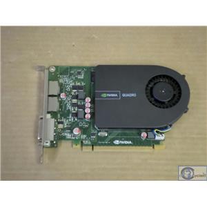 Nvidia Quadro 2000 1GB GDDR5 SDRAM 128bit PCIe 2x16 Graphics Card 8MDMW