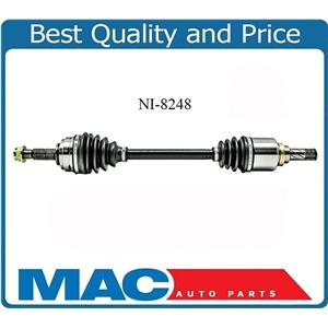Front Driver Side CV Axle NI-8248 Fits Versa & Cube Manual Transmission ONLY!