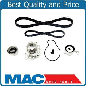 Fits 94-2002 Accord 4 Cyl USTK244186 Engine Dual Timing Belt Kit with Water Pump