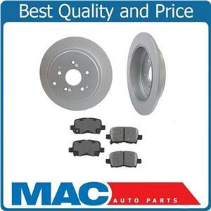 03-08 Pilot 01-06 MDX (2) Rear Brake Rotors & Ceramic Pads 31318 CD865