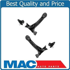 For 09-13 Matrix 2.4L Vibe 2.4L Lower Control Arms W Bushings & Ball Joints 4pc
