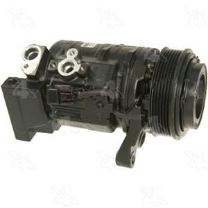 AC Compressor for 2008-2014 Cadillac CTS (One Year Warranty) R157312