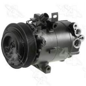 AC Compressor fits 2011-2012 Hyundai Elantra  (1 Year Warranty) R1177326