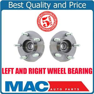 Wheel Bearing and Hub Assembly Rear fits 97-03 Windstar W ABS Trigger Wheel (2)