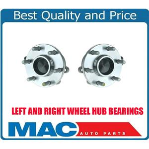 (2) 05-11 Xterra REAR WHEEL DRIVE ONLY Front Hub And Bearing and Hub Assembly