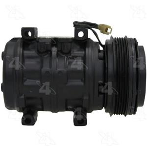 AC Compressor For 1985 1986 1987 Toyota Corolla (1 Year Warranty) R67370