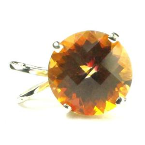 SP088, Twilight Fire Topaz 925 Sterling Silver Pendant