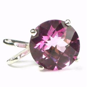 SP088, Pure Pink Topaz 925 Sterling Silver Pendant