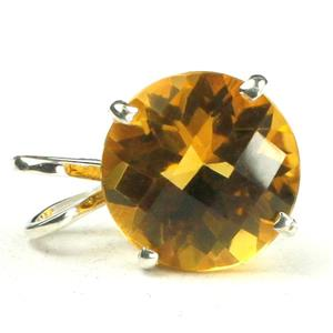 SP088, Citrine 925 Sterling Silver Pendant
