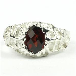 SR168, Mozambique Garnet, 925 Sterling silver Ring