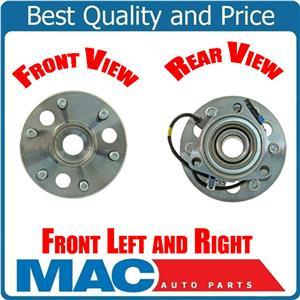 Front Wheel Bearing and Hub Assembly Fits GM Tahoe Yukon 4 Wheel Drive 95-99