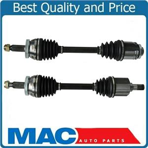 (2) 100% New CV Axle Shafts Assembly for 07-09 Santa Fe 2.7L FWD 4Sp Automatic