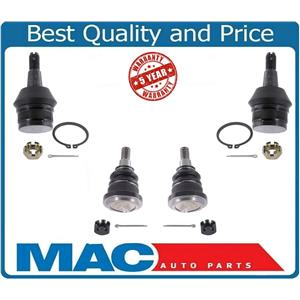 94-96 Dodge Ram 1500 4X2 2 Wheel Drive Upper & Lower Ball Joints Joint 4pc
