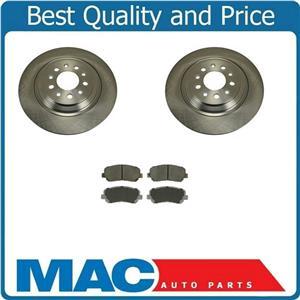 (2) Disc Brake Rotors With Rear Ceramic Pads 901200 fits 13-16 Dodge Dart