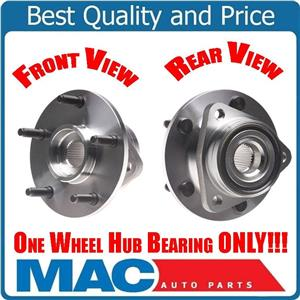Fits 94-99 Dodge Ram 1500 4 Wheel Drive (1) Front Hub Wheel Bearing W REAR ABS
