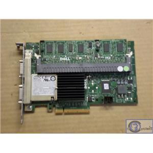Dell PowerEdge PERC6/e 512MB Cache  SAS RAID Controller J155F w/ Battery