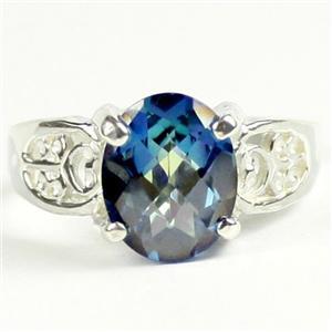 Neptune Garden Topaz, 925 Sterling Silver Ladies Ring, SR369